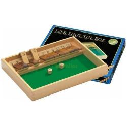 Nr.: 3120 Shut The Box 12er aus Buche - 3120 Philos Spiele