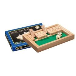 Nr.: 3129 Kleines Shut The Box 10er - 3129 Philos Spiele