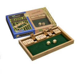 Nr.: 3271 Shut The Box 12er aus Bambus - 3271 Philos Spiele