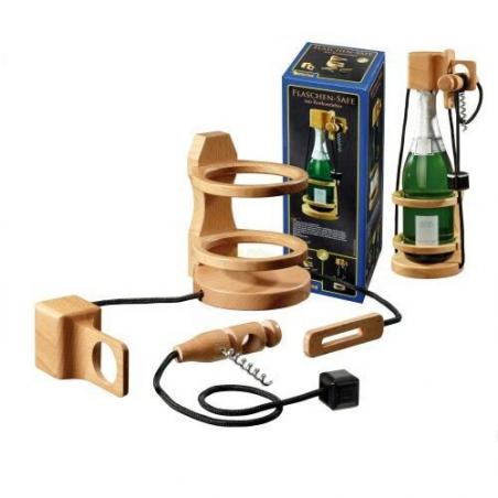 Nr.: 5521 Flaschen-Safe, mit Korkenzieher - 5221 Philos Spiele