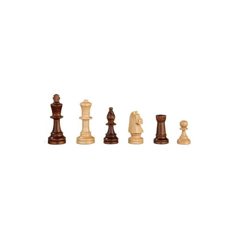 Nr.: 2025 Schachfiguren Heinrich VIII 90 mm - 2025 Philos Spiele