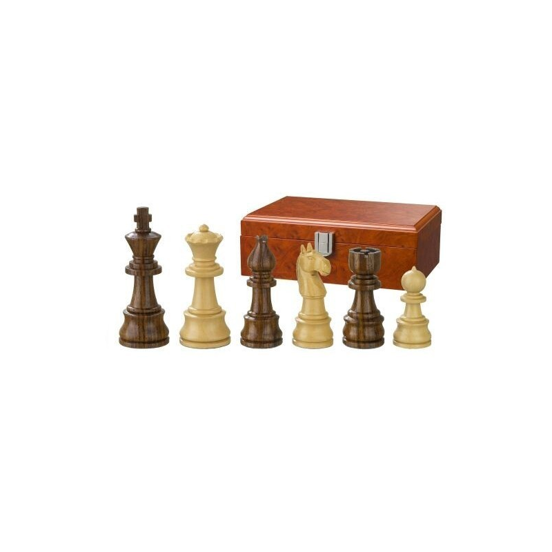Nr.: 2030 Schachfiguren Theoderich 95 mm - 2030 Philos Spiele