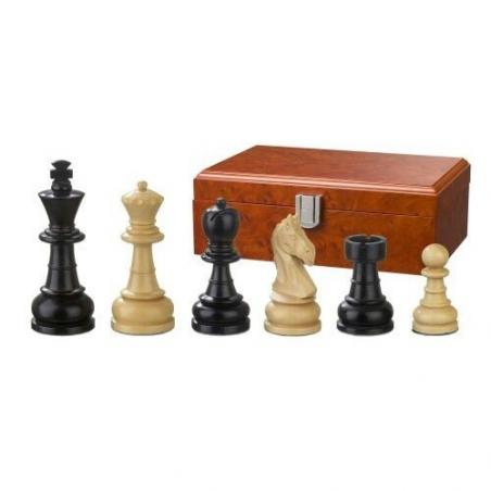 Nr.: 2070 Schachfiguren Chlodewig 83 mm - 2070 Philos Spiele