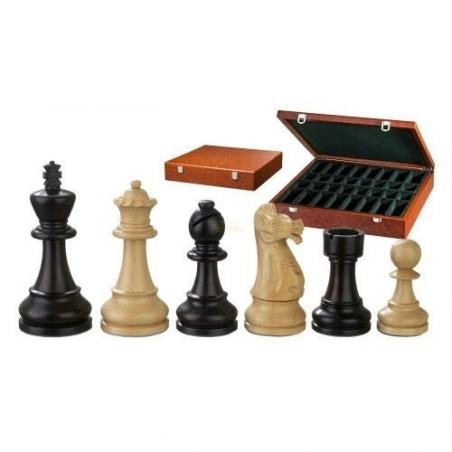 Nr.: 2250 Schachfiguren Alexander KH 100 mm - 2250 Philos Spiele