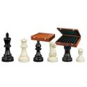 Nr.: 2272 Schachfiguren Philos-Nero weiß KH 95 mm - 2272 Philos Spiele