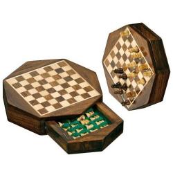 Nr.: 2718 Schach Octagon Feldgröße 10 mm - 2718 Philos Spiele