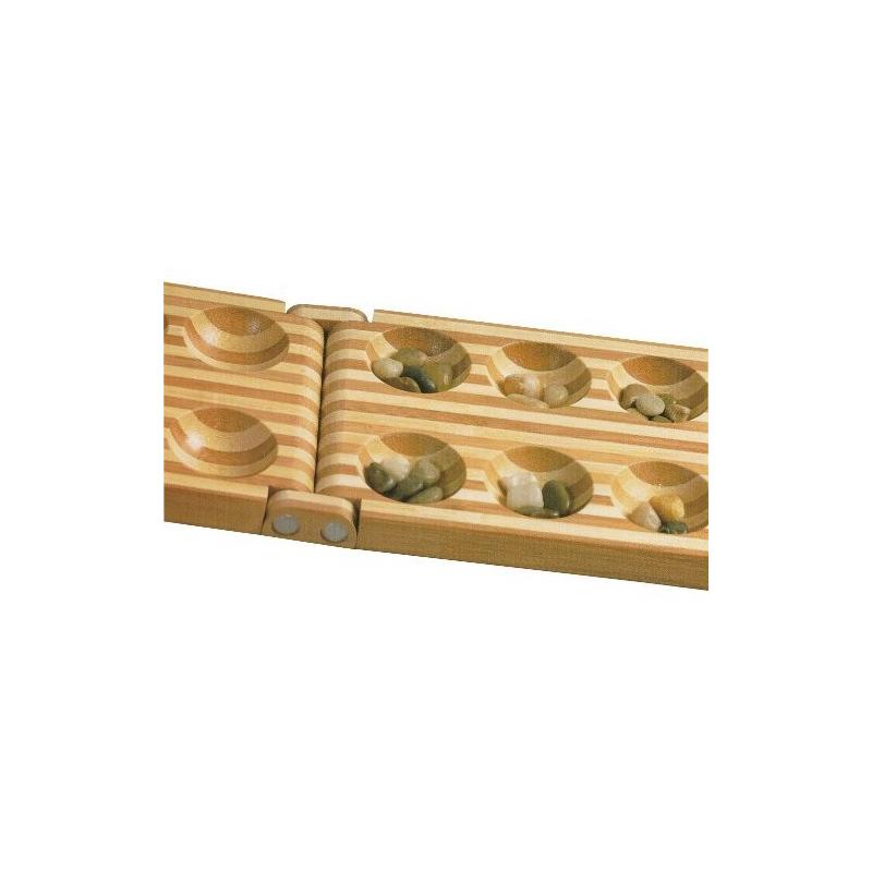 Nr.: 2844 Klapp-Kalaha aus Bambus - 2844 Holzladen24