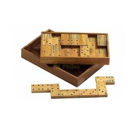 Nr.: A Domino, Doppel 6 - 6209 Philos Spiele