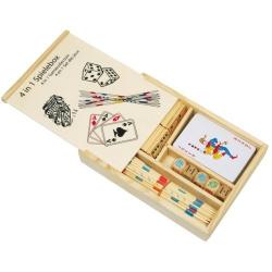 Nr.: 2866 Spielebox aus Holz - 2866 Holzladen24.de