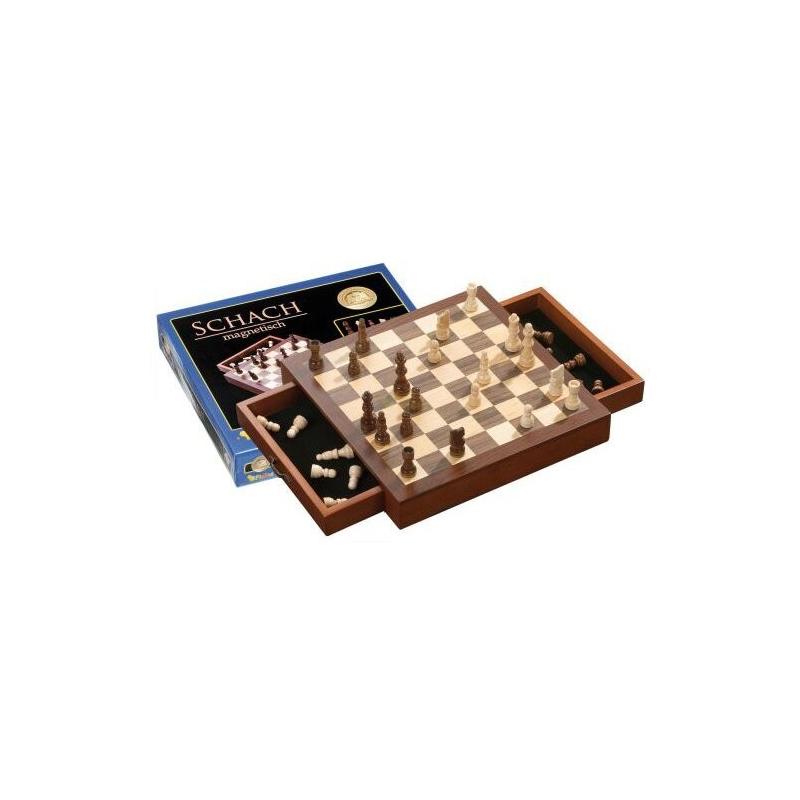 Nr.: 2713 Schachkassette, magnetisch, Feld 33mm - 2713 Philos Spiele