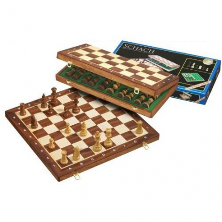 Nr.: 2610 Schach, Feldgröße 40 mm - 2610 Philos Spiele