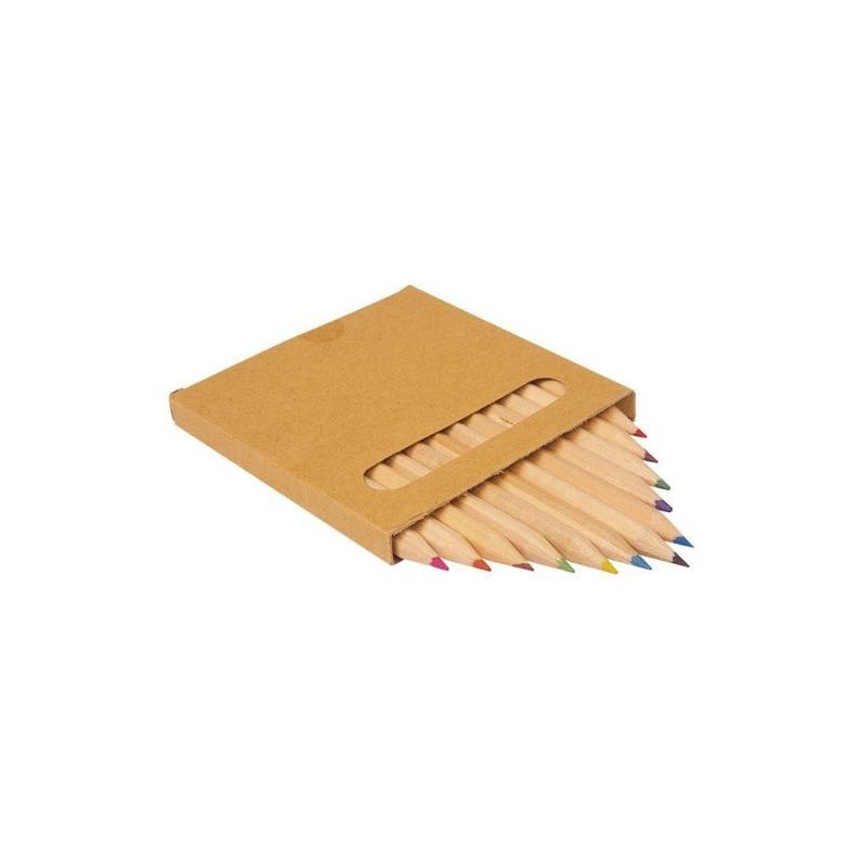 Nr.: 8228 12 Buntstifte im Pappkarton - 8228 von Holzladen24.de