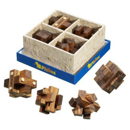 Nr.: 6167 Puzzle Geschenkset III - 6167 Philos Spiele
