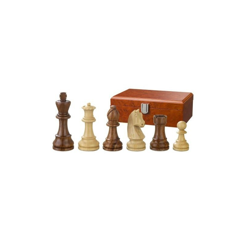 Nr.: 2185 Schachfiguren Artus KH 83 mm - 2185 Philos Spiele