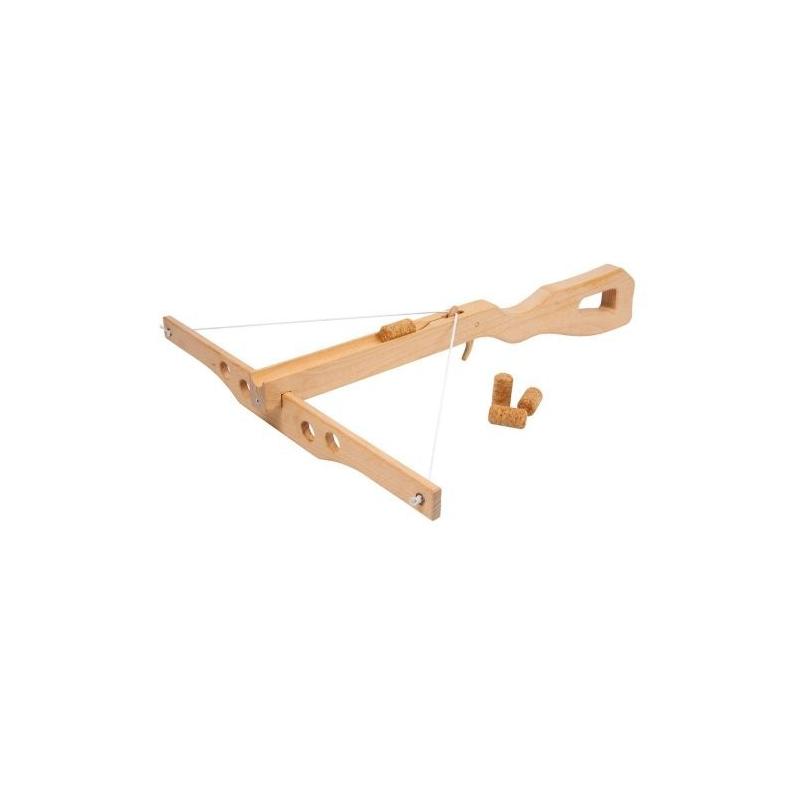 Nr.: 3354 Korkenarmbrust aus Holz - Holzladen24.de