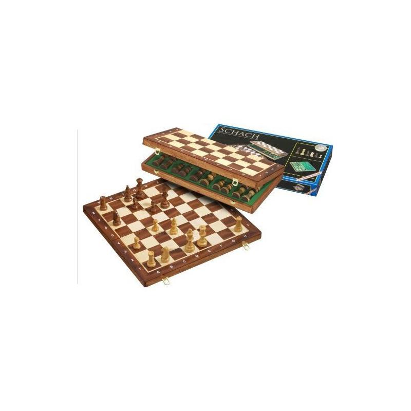 Nr.: 2611 Schach, Feldgröße 50 mm - 2611 Philos Spiele