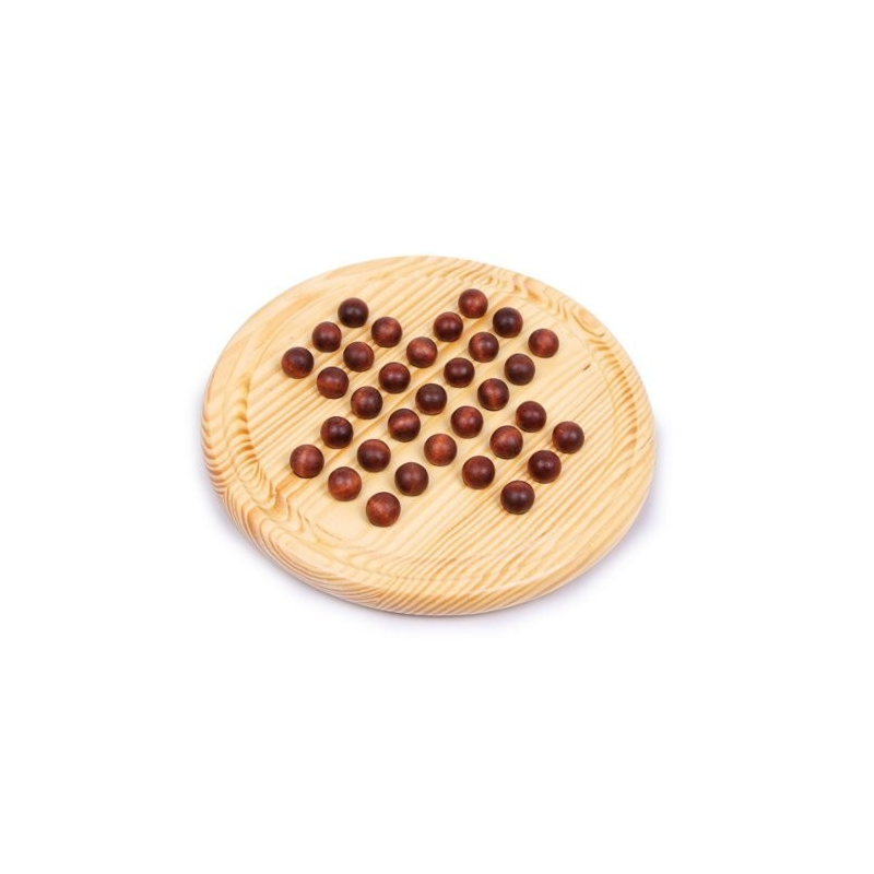 Nr.: 2933 Solitaire mit Holzkugeln - 2933 Holzladen24.de