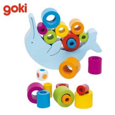 Nr.: 56901 Balancierspiel Delfin - 56901 GoKi