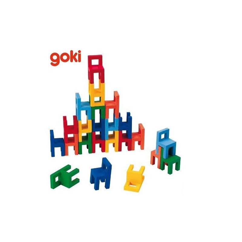 Nr.: 56929 Balancierspiel Stühle - 56929 GoKi