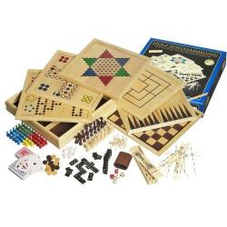Nr.: 3102 Große Holz-Spielesammlung 100 - 3102 Philos Spiele