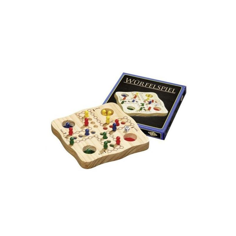 Nr.: 3186 Würfelspiel - Ludo - 3186 von Philos Spiele