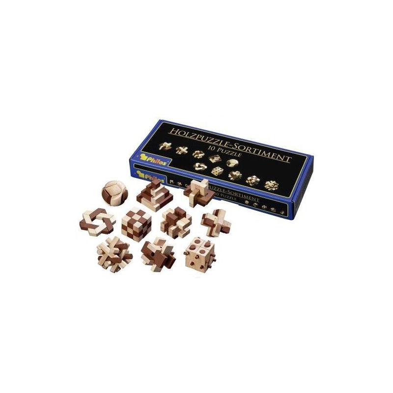 Nr.: 6922 Holzpuzzle-Sortiment - 6922 Philos Spiele