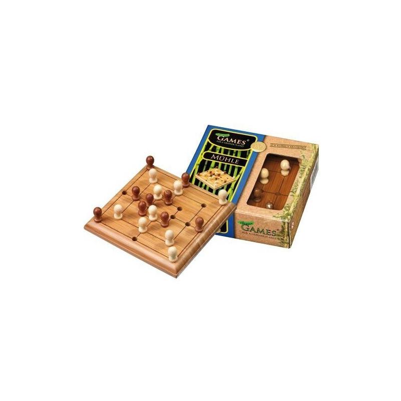 Nr.: 6491 Steckspiel Mühle - 6491 von Philos Spiele