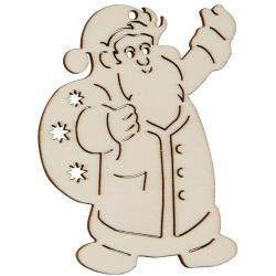 Nr.: 27645 Holzmotiv Weihnachtsmann - 27645 Holzladen24.de
