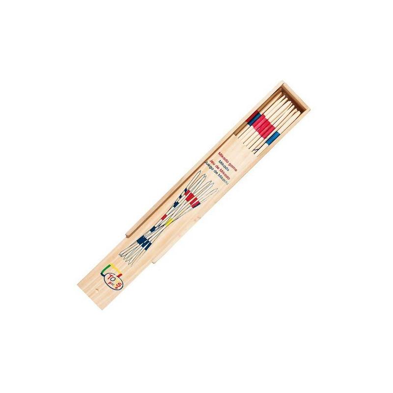 Nr.: HS224 Mikado im Holzkasten 28 cm - Toys Pure