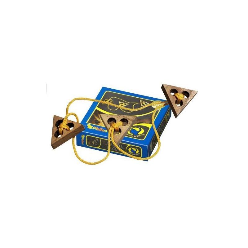 Nr.: 6105 Seilpuzzle Triangelpuzzle - 6105 Philos Spiele