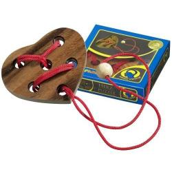 Nr.: 6109 Seilpuzzle Herzpuzzle - 6109 Philos Spiele