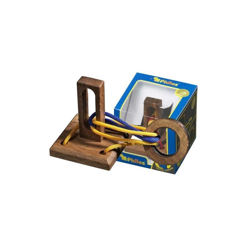Nr.: 6108 Seilpuzzle Verrückter Ring - 6108 Philos Spiele