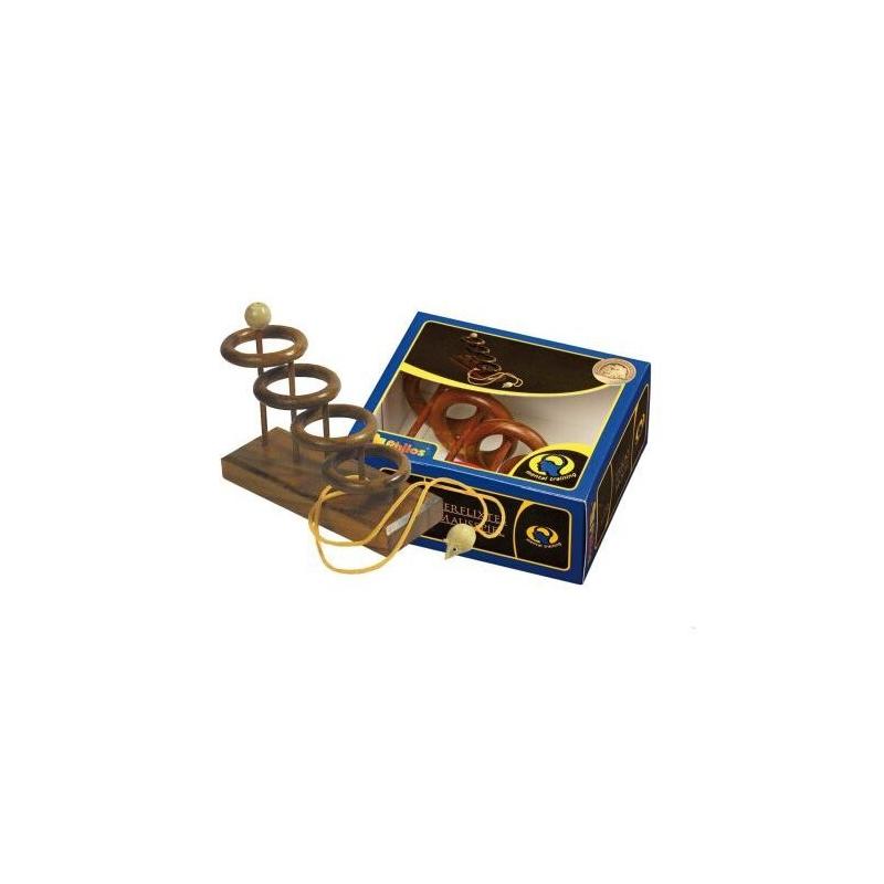 Nr.: 6106 Seilpuzzle Verflixtes Mausspiel - 6106 Philos Spiele