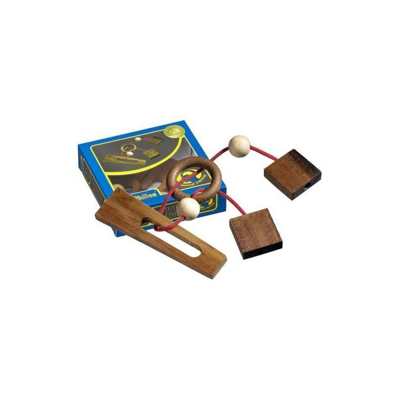 Nr.: 6110 Seilpuzzle Hexenende - 6110 Philos Spiele