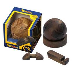 Nr.: 6037 Kugel-Puzzle mit Holzständer - 6037 von Philos Spiele