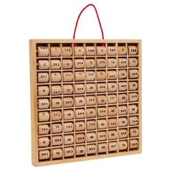 Nr.: 3459 Multiplizier-Tabelle Rio aus Holz mit Walzen - Holzladen24.de