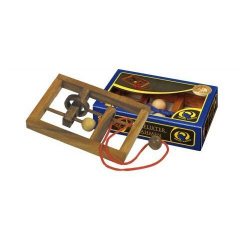 Nr.: 6107 Seilpuzzle Verflixter Rahmen - 6107 Philos Spiele
