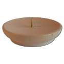 Nr.: 5990 Kerzenhalter mit Dorn - 5990 Holzladen24.de