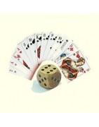 Würfelspiele Glücksspiele und Kartenspiele aus Holz